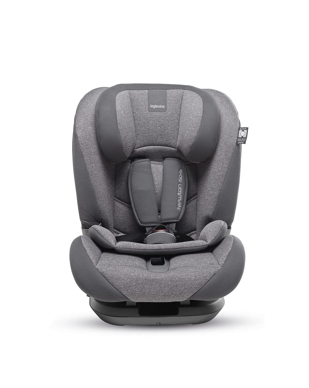 Cadeira auto inglesina newton 1.2.3 ifix, preta - Inglesina