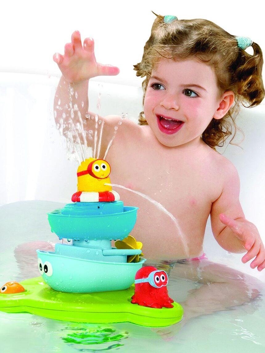Yookidoo - fonte de banheira de spray stack 'n' - Yookidoo