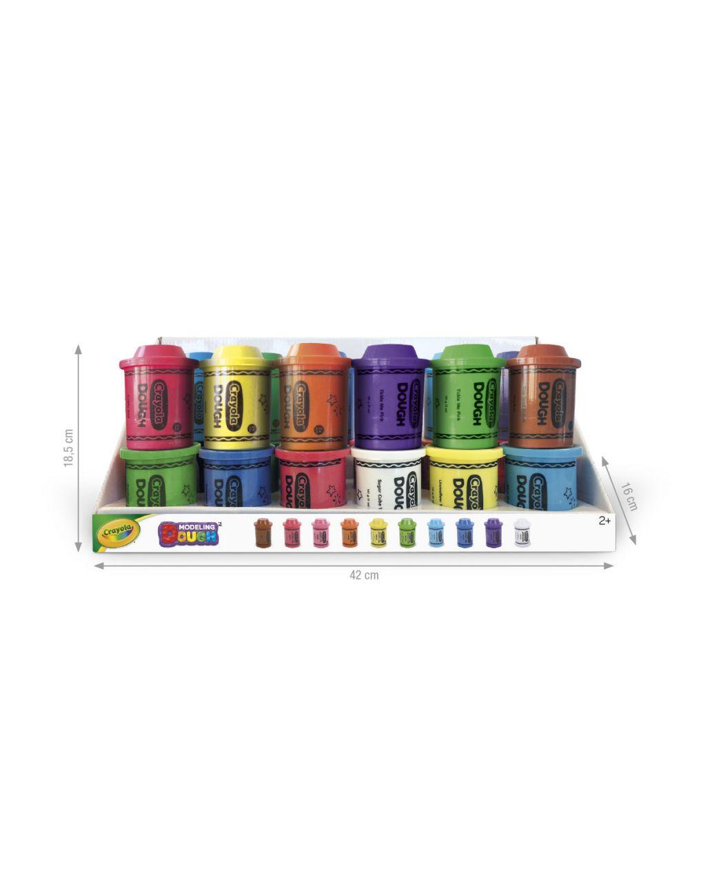 Crayola - frasco de argila de modelar de 141 gr - Crayola