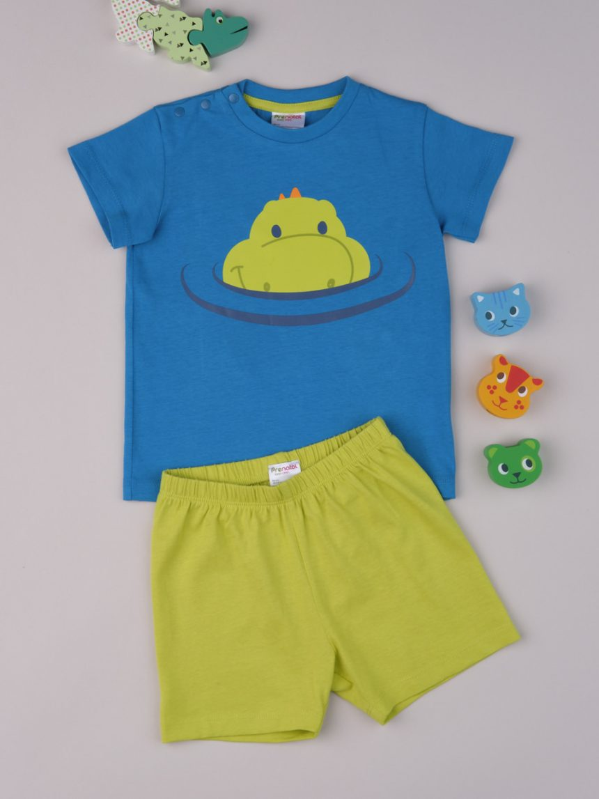 "Pijama de bebê ""dinossauro"" - Prénatal"