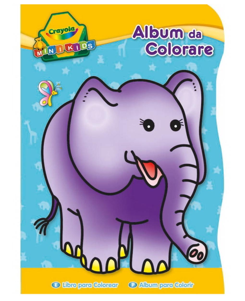 Crayola - livro de colorir em formato de mini crianças 3 assuntos - Crayola