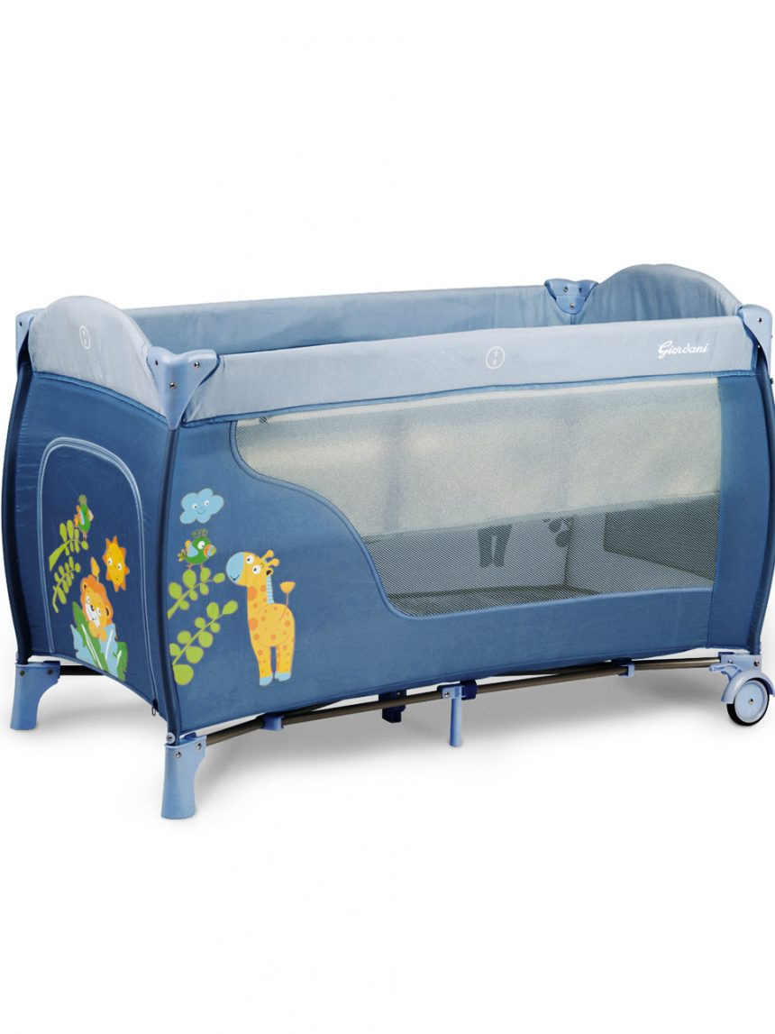 Jungle freinds deluxe blue bed - Giordani
