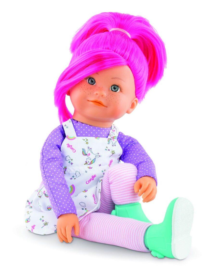 Corolle - boneca arco-íris - nephelie - Corolle