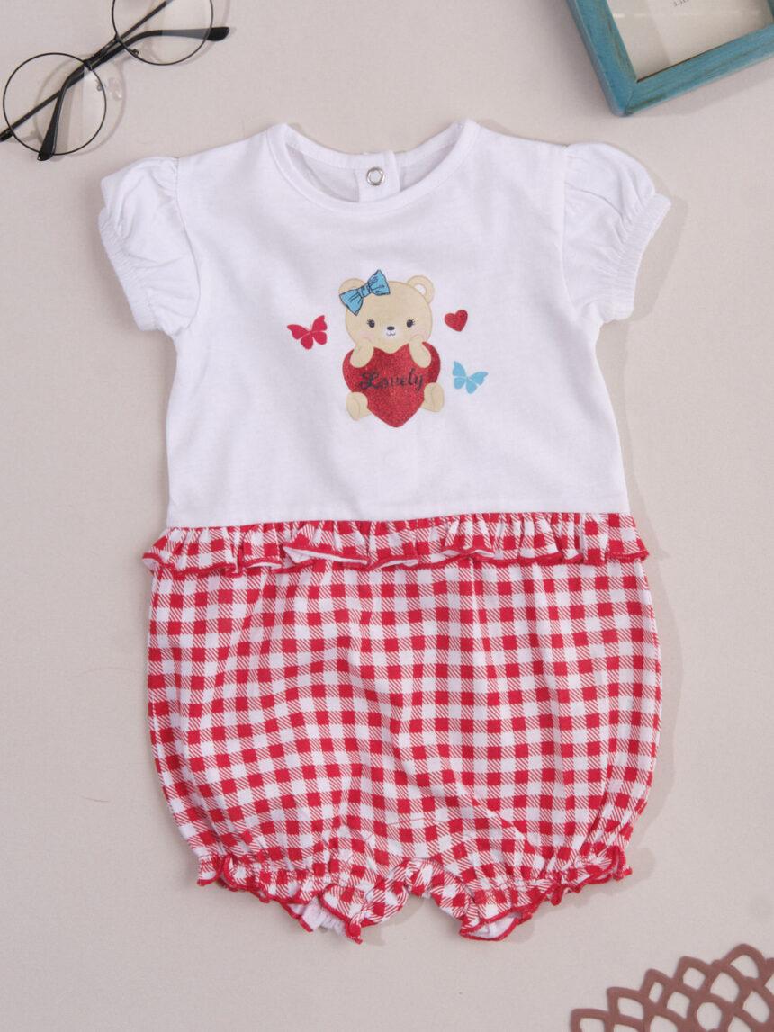 """Macacão de bebê """"teddy"""" - Prénatal"""