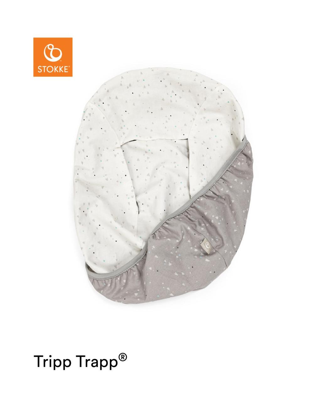 Capa para o conjunto tripp trapp® recém-nascido - queridos corações - Stokke