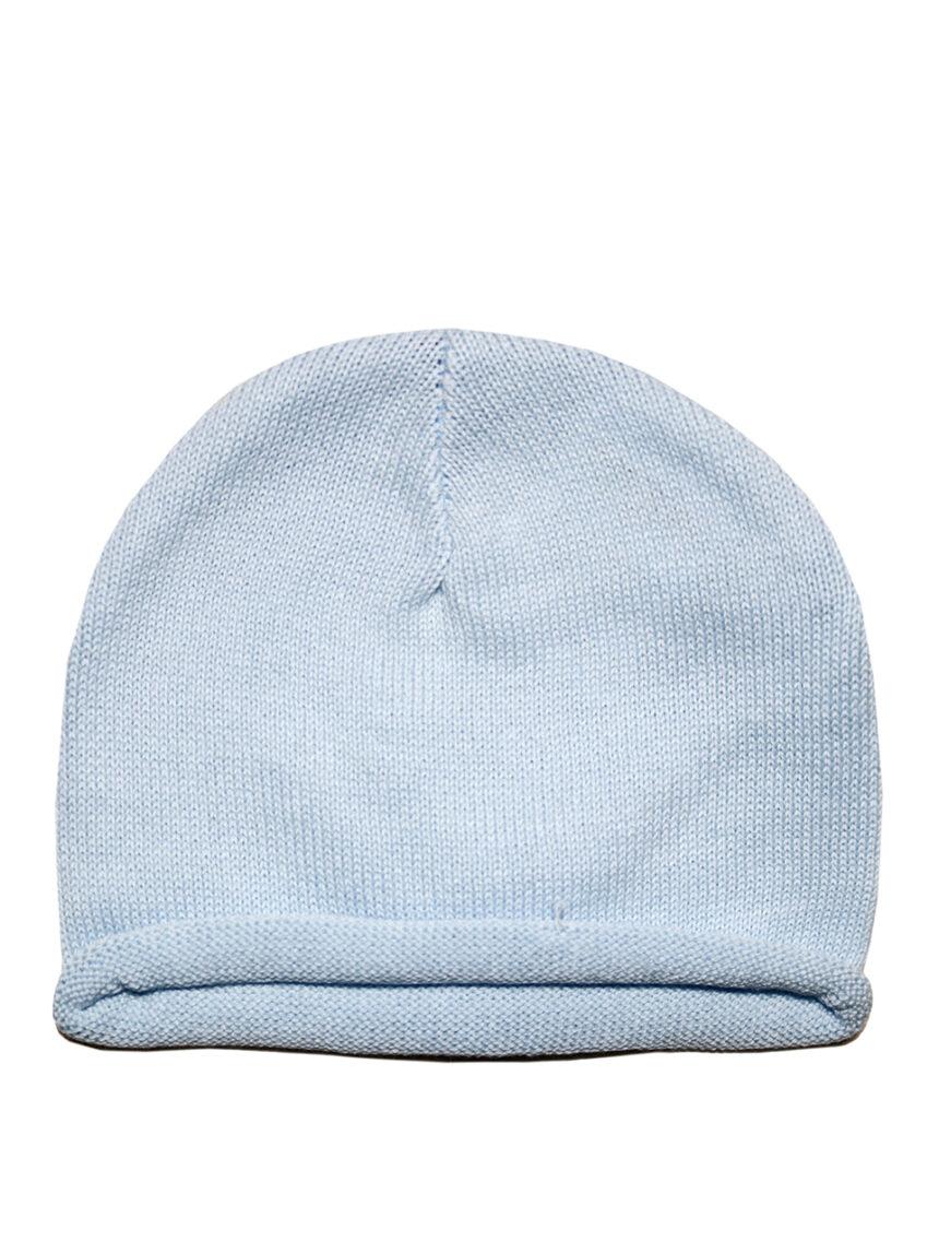 Boné de algodão azul claro - Prénatal