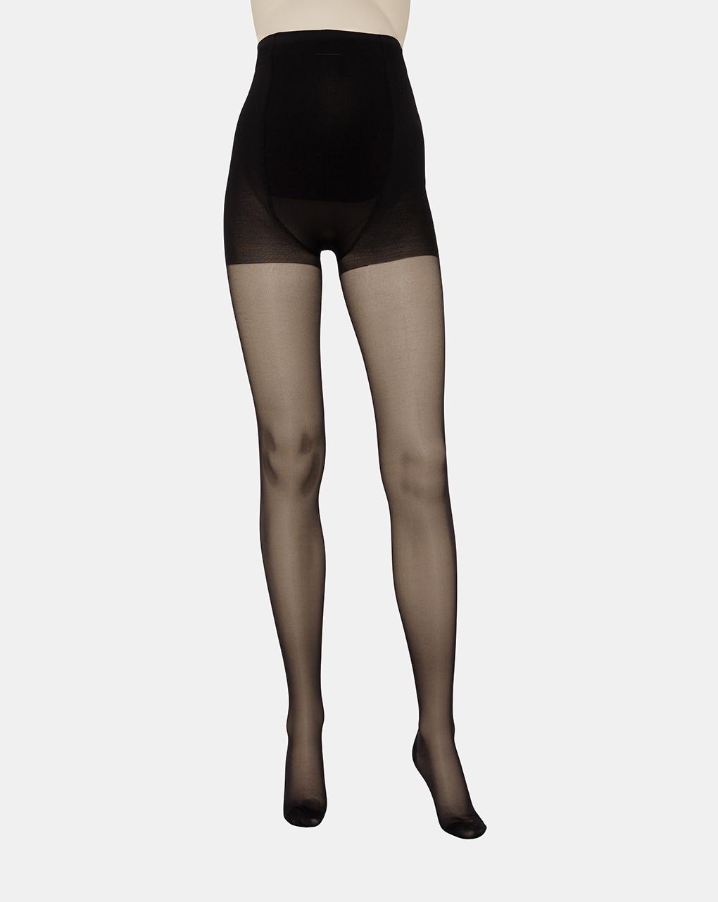 Meia-calça relaxante 70 den preto - Prénatal