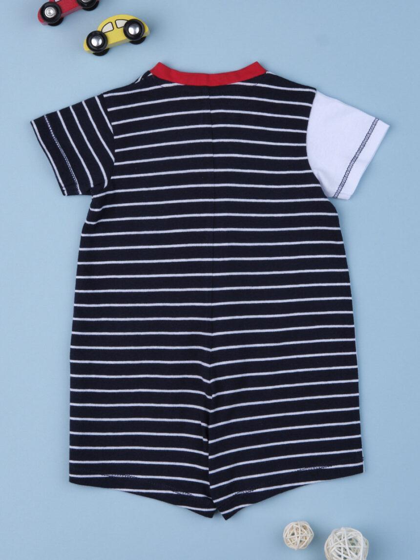 """Macacão de bebê """"cachorro marinheiro"""" - Prénatal"""