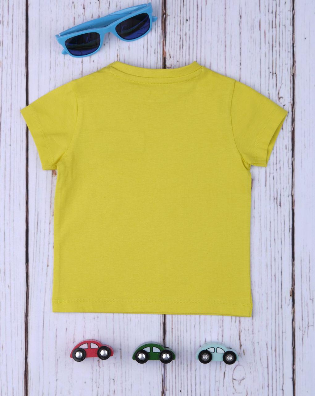 Camiseta menino amarelo - Prénatal