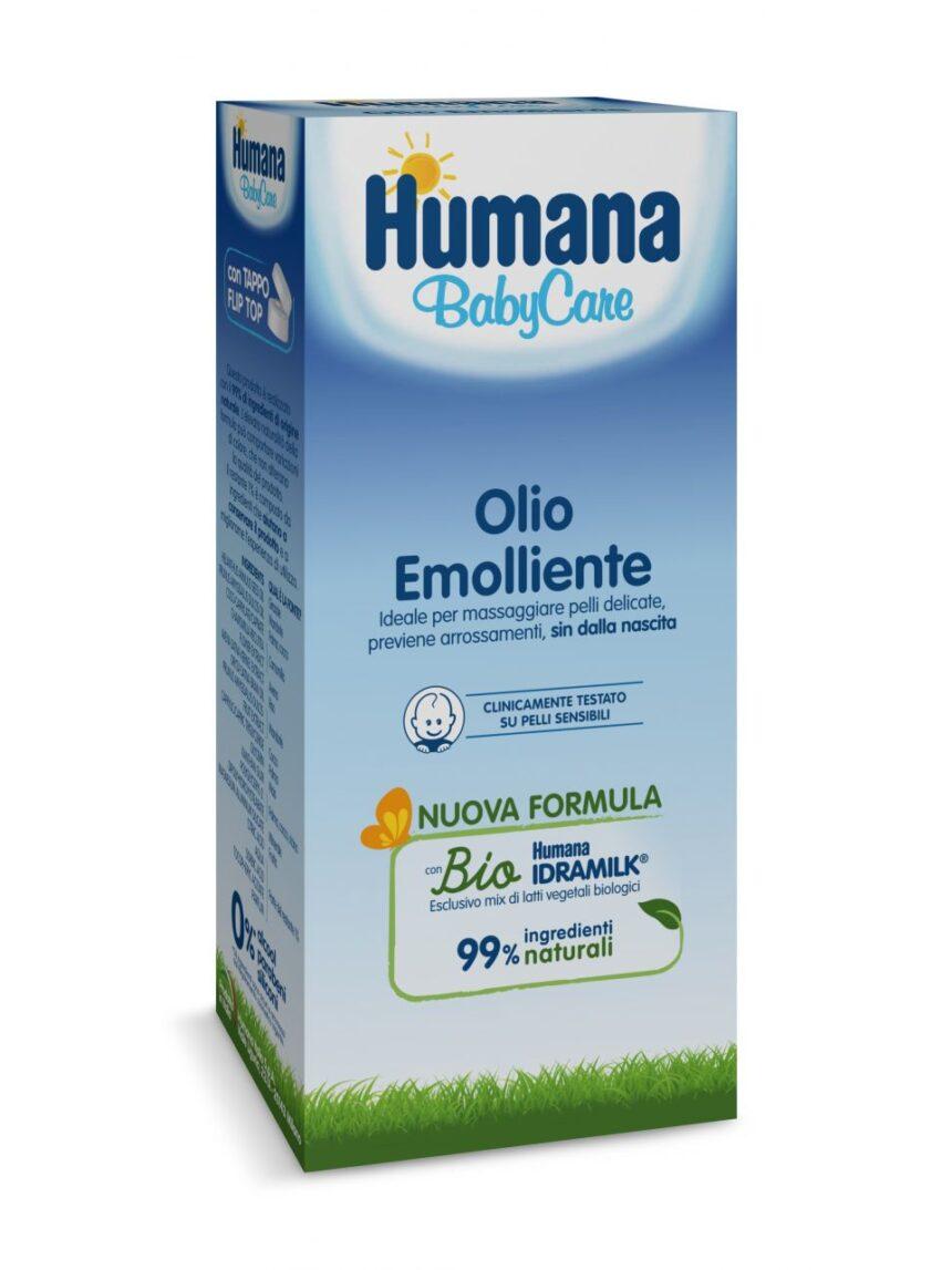 óleo emoliente 250 ml - Humana Baby Care