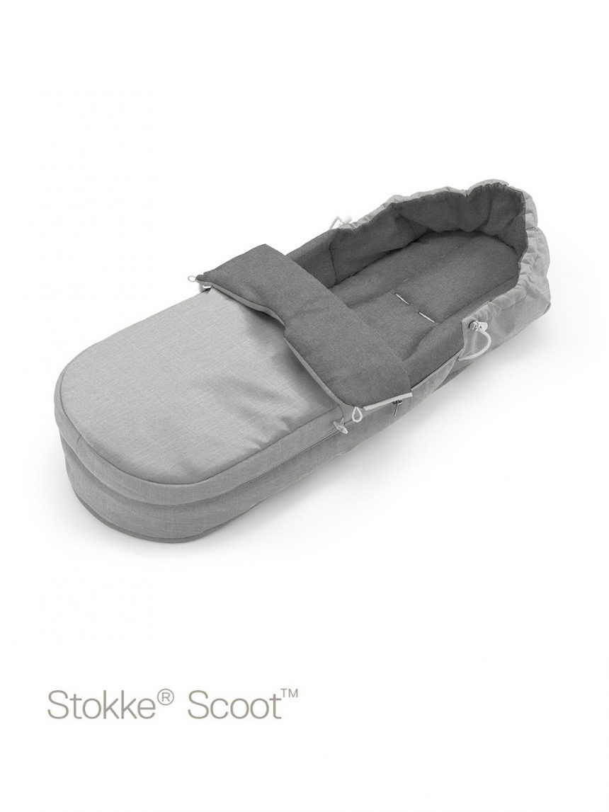 Softbag stokke® scoot ™ - melange cinza - Stokke