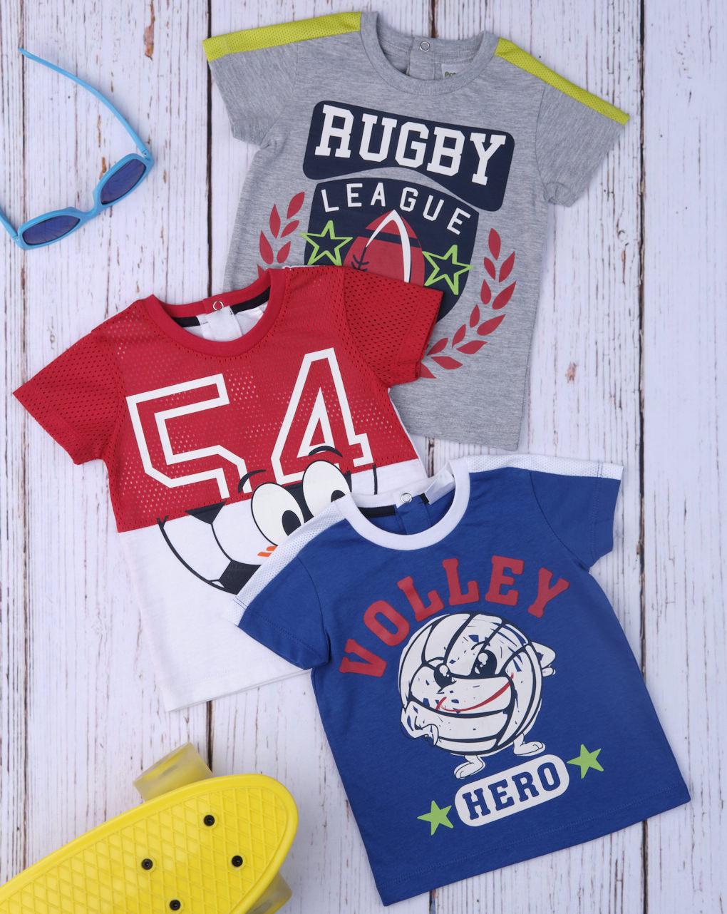 """T-shirt de menino """"vermelho esporte"""" - Prénatal"""