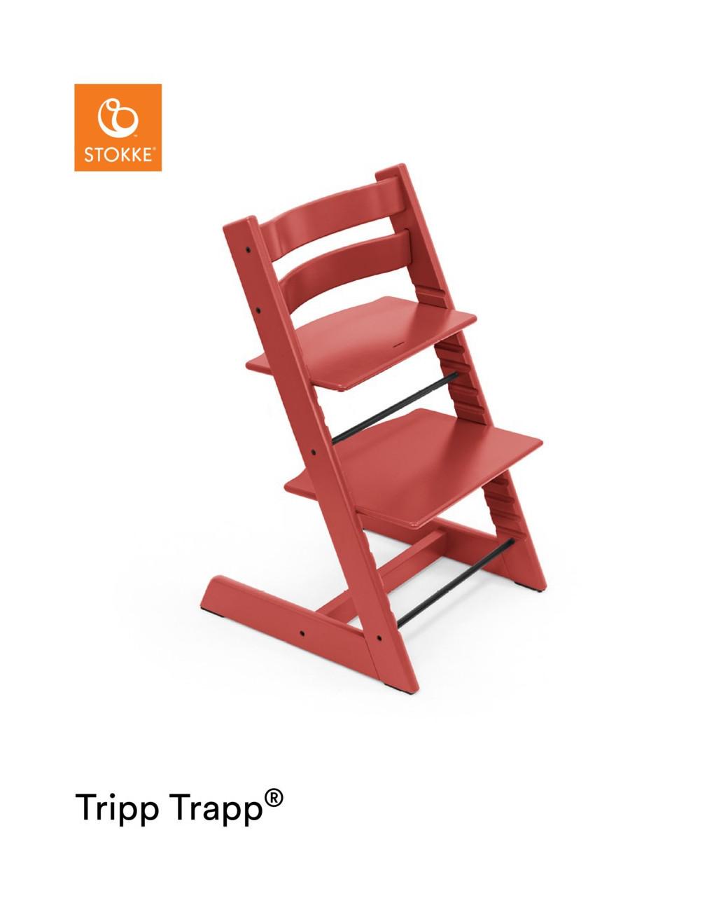 Tripp trapp® - vermelho quente - Stokke