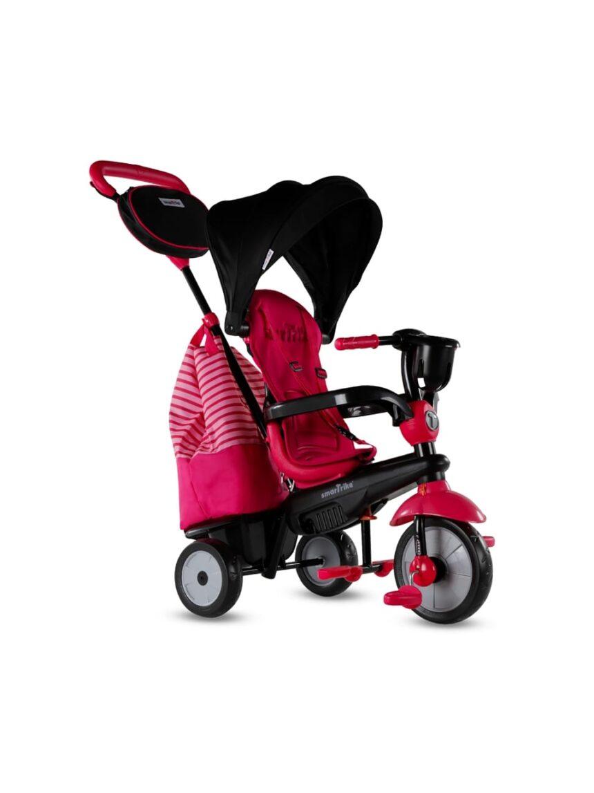 Triciclo inteligente - triciclo giratório deluxe vermelho - SmarTrike