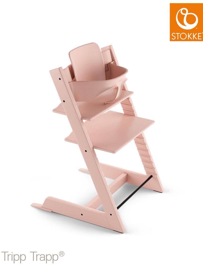 Conjunto para bebês stokke® por tripp trapp® - rosa sereno - Stokke