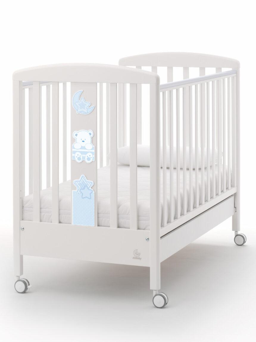 Minha cama de pelúcia azul - italbaby