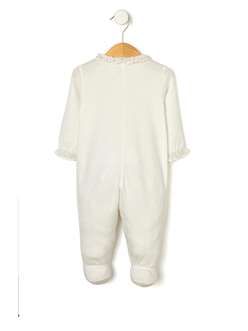 Macacão de algodão orgânico - Prénatal