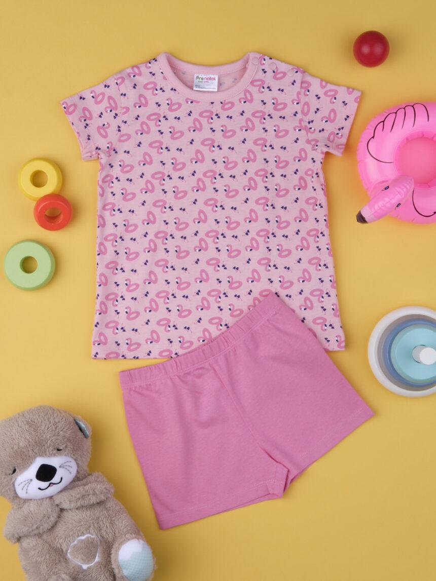 "Pijama de menina ""flamingos"" - Prénatal"