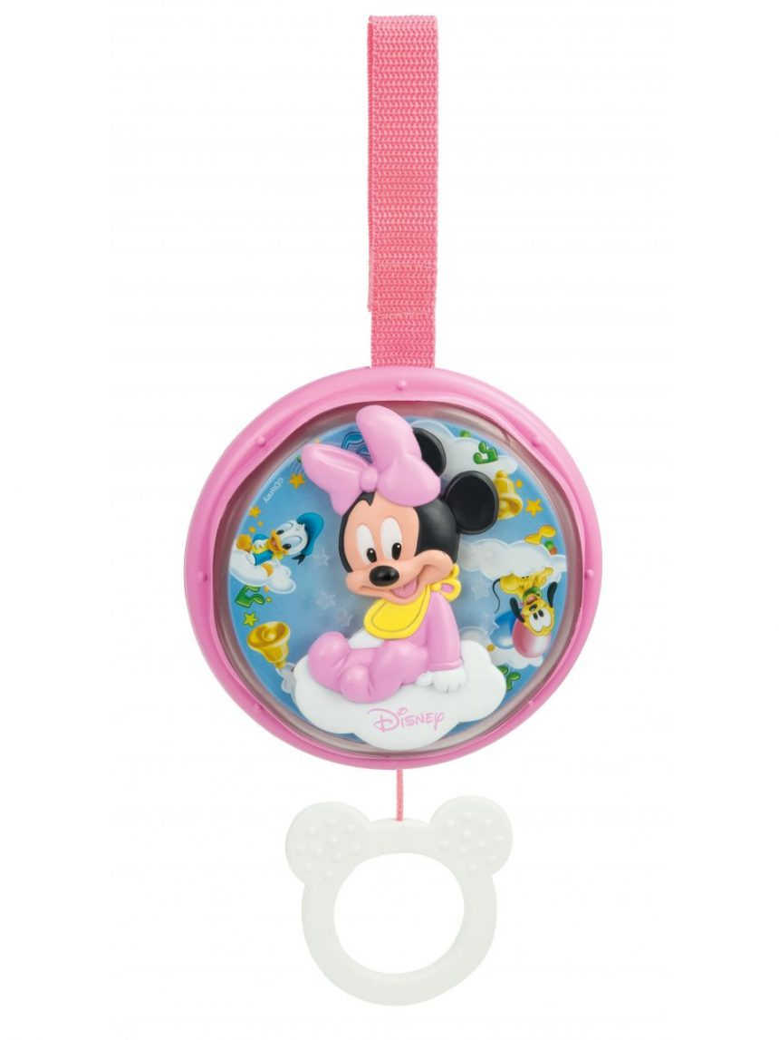 Disney baby - caixa de música minnie sweet night - Clementoni