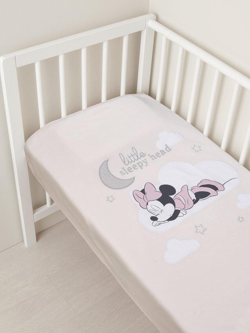 Manta bebê minnie chenille - Prénatal