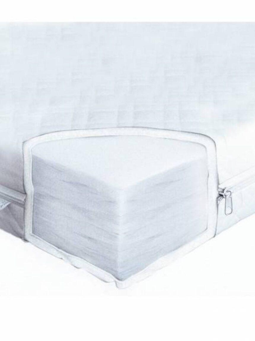 Colchão de fibra 125x62 com capa removível - Giordani