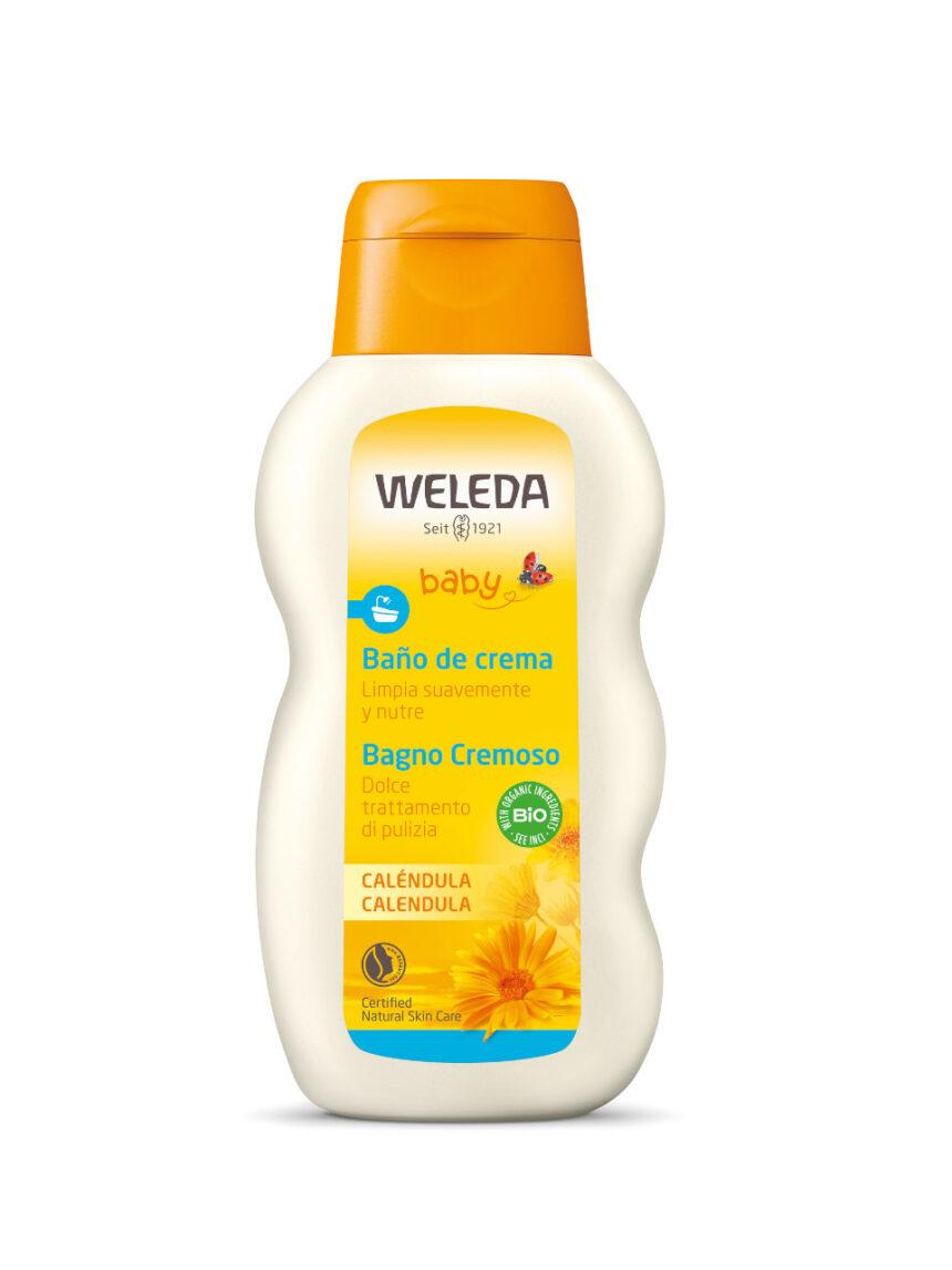 Calêndula de banho cremosa bebê 200 ml - Weleda