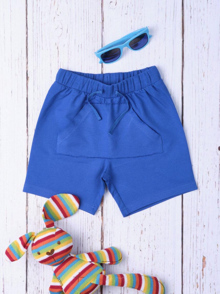 Shorts bimbo basic blue - Prénatal