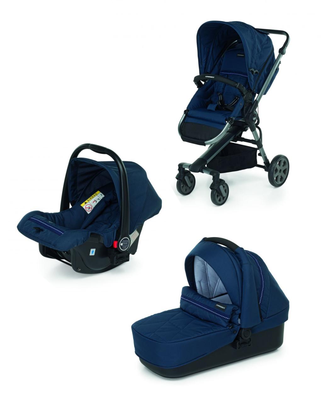 Up3 elegante azul - Foppapedretti