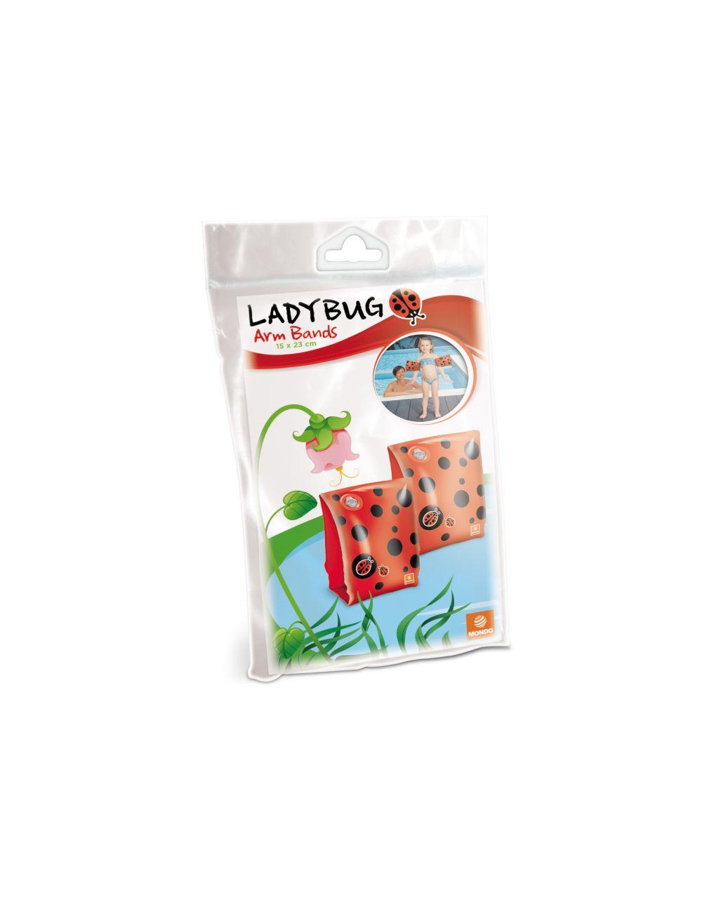 Mondo - braços de lady bug - Mondo
