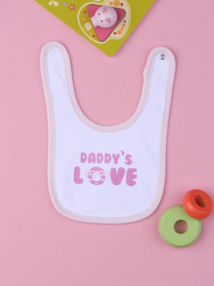 """Babador de bebê """"amor do papai"""" - Prénatal"""
