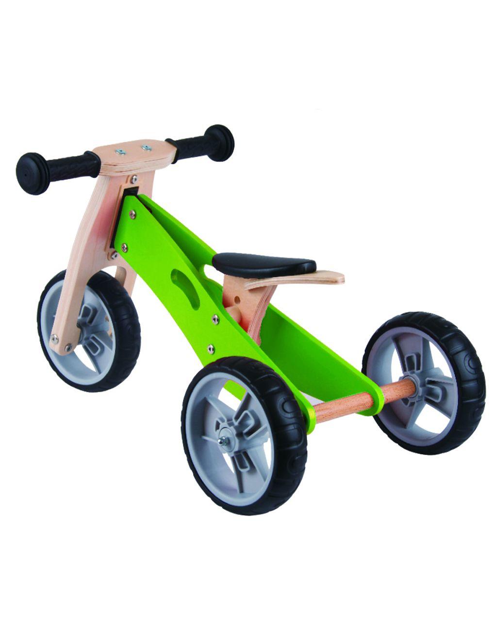 Udeas - minibike 2 em 1 - verde - Udeas