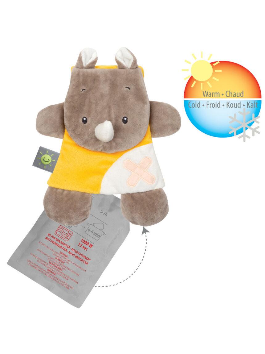 Nattou - pacote de con gel doudou rino - Nattou