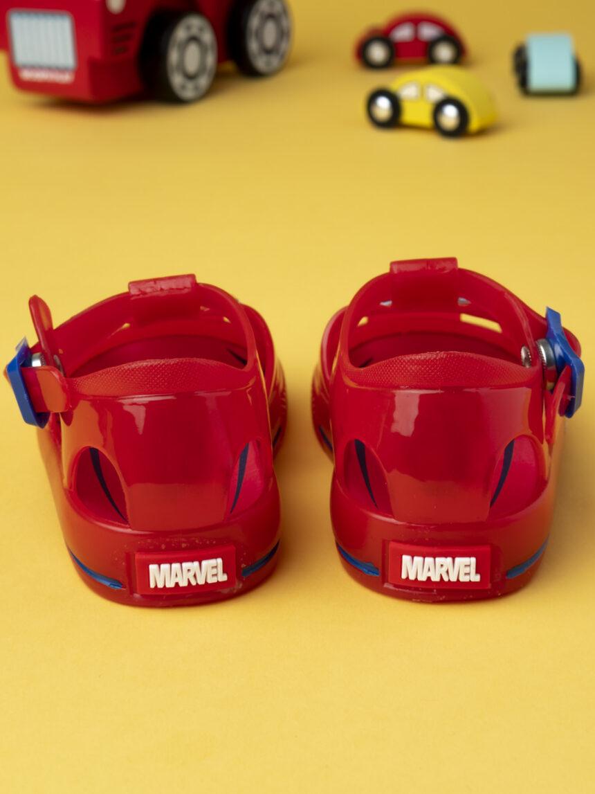 """Sandália de menino """"homem-aranha"""" - Marvel"""