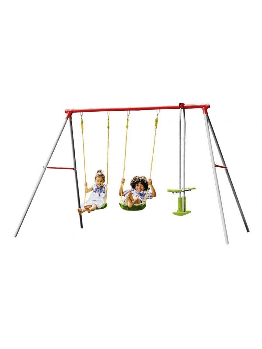 Sol e esporte - centro de jogo de swing duplo - Sun&Sport