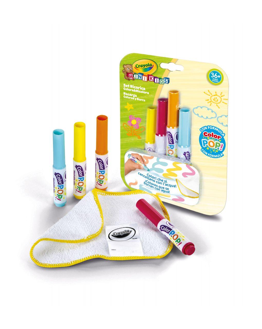 Crayola - refil mat color e recolorir mini kids - Crayola