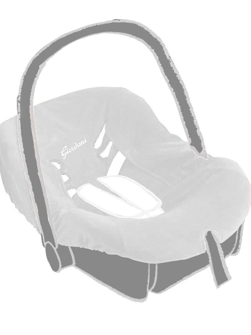 Grupo 0+ capa de assento branca - Giordani