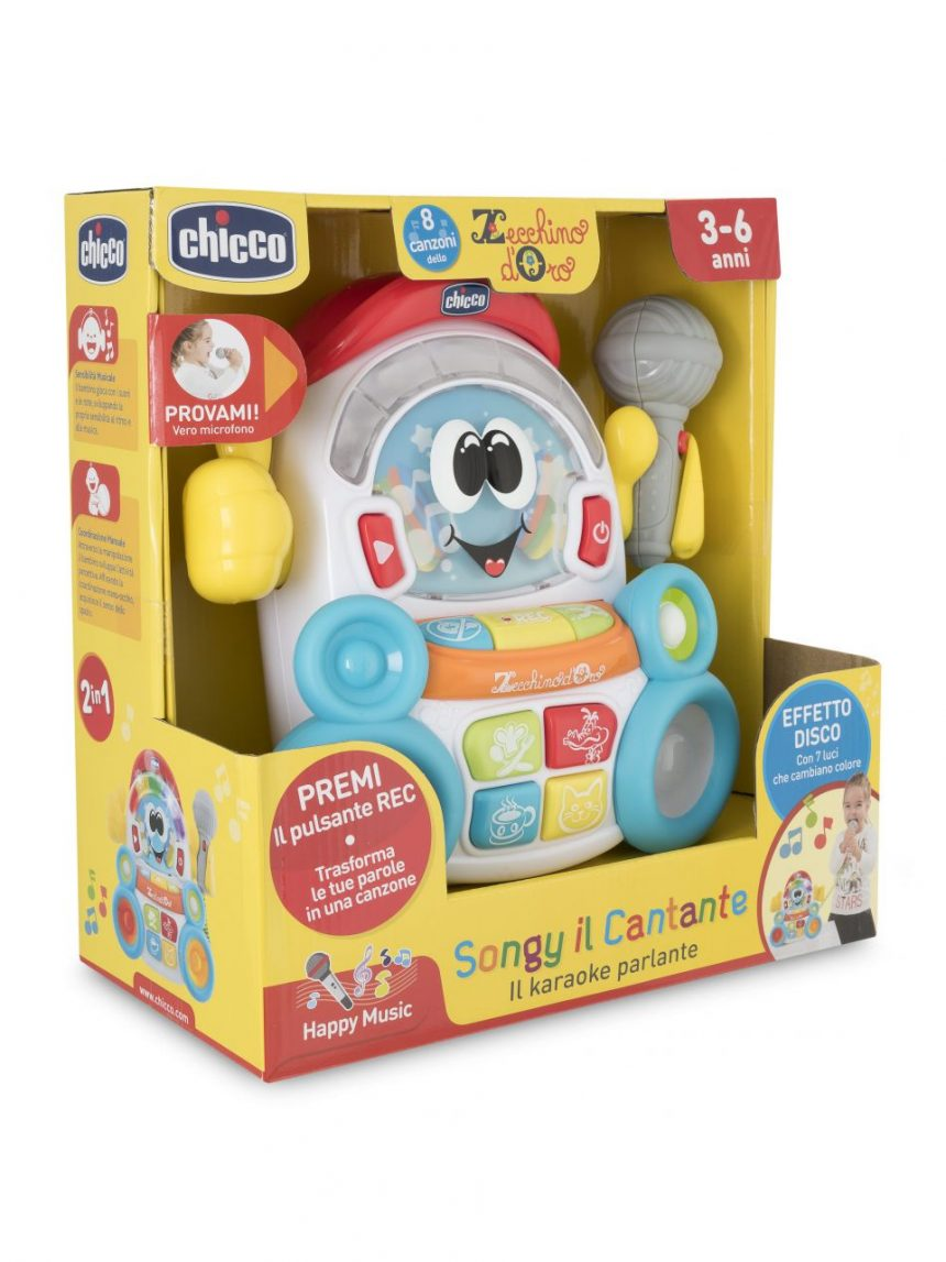 Chicco - jogo musical songy the singer - Chicco