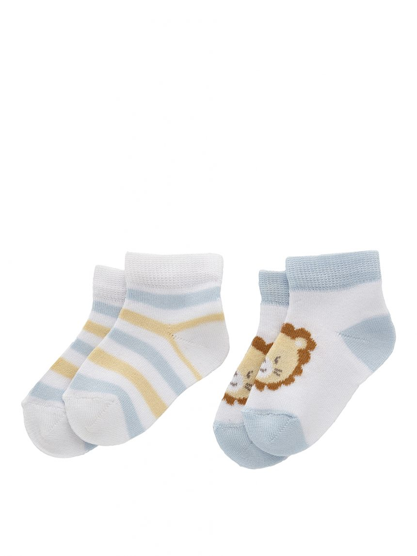 Pacote de 2 meias de algodão - Prénatal