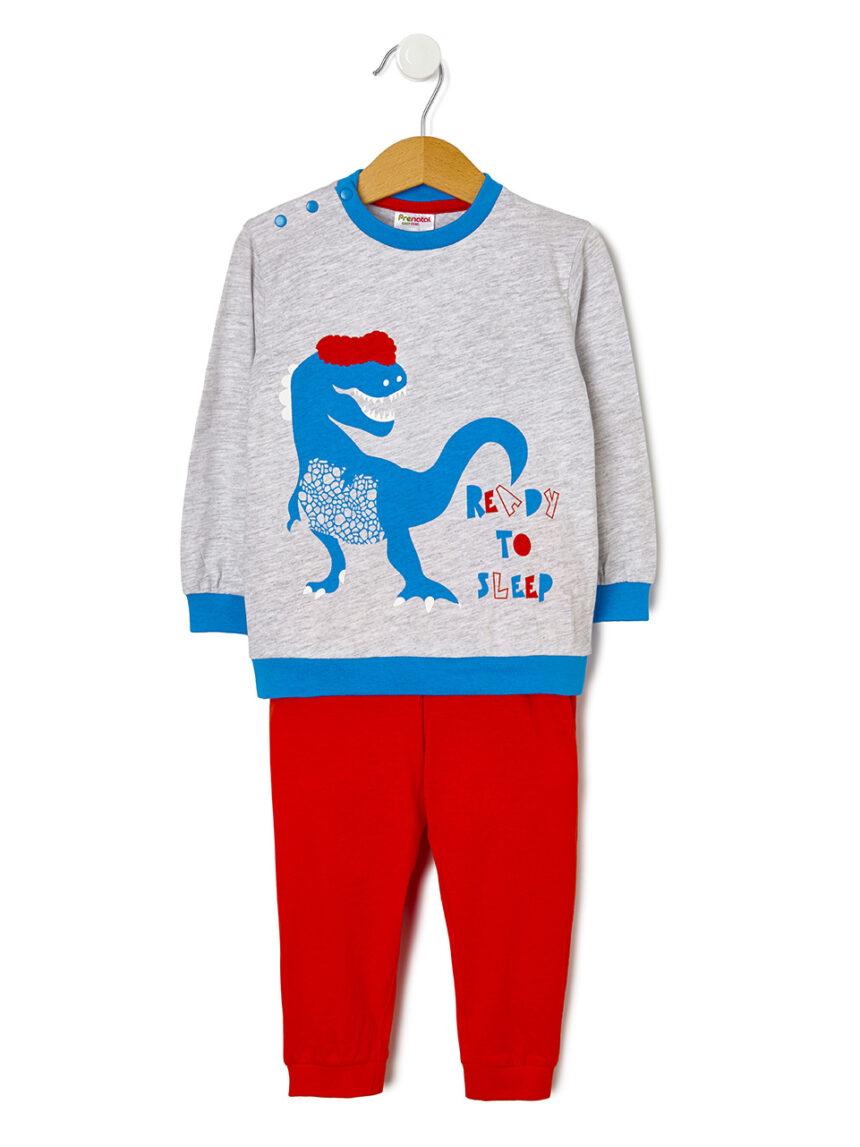 Pijama de 2 peças com estampa de dinossauro - Prénatal