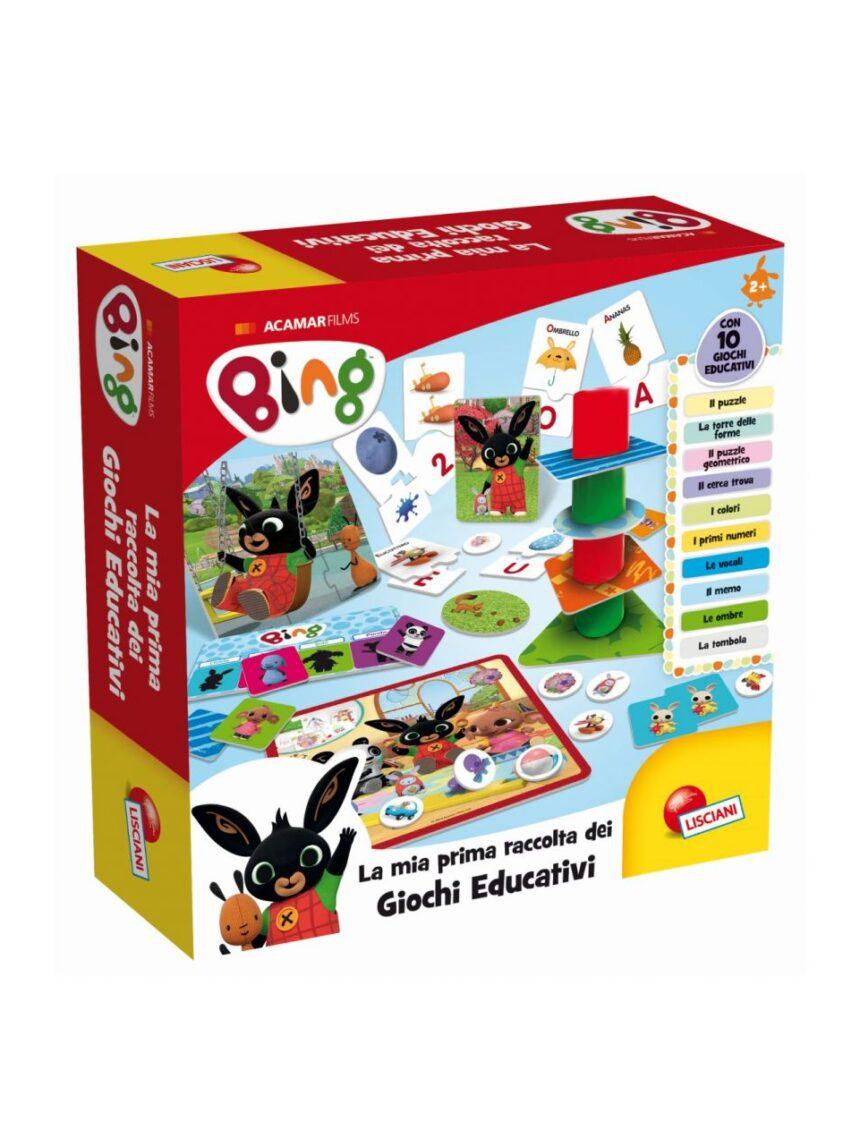 Lisciani - coleção de jogos educativos do bing baby - Bing
