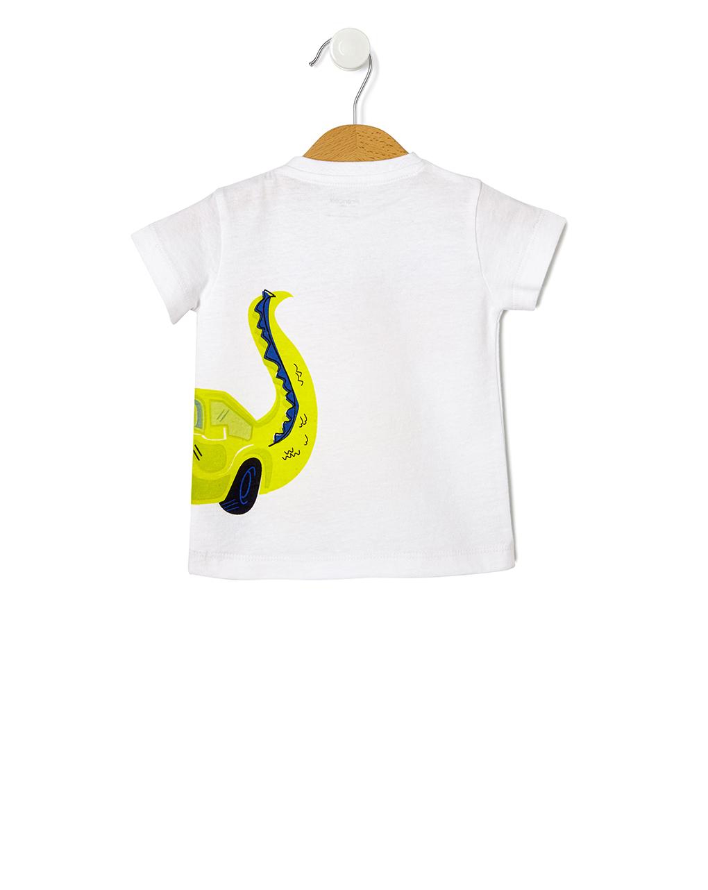 Camiseta estampada de crocodilo - Prénatal