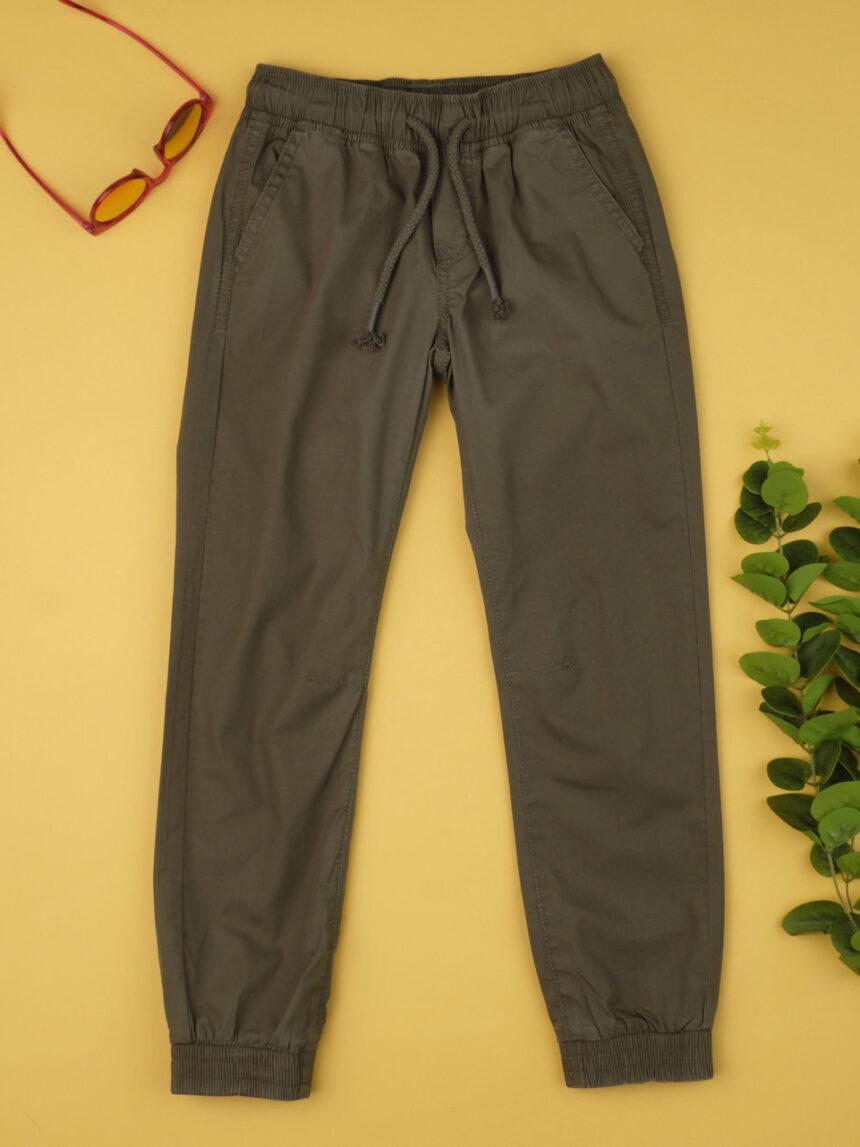 Calças de menino verde militar - Prénatal