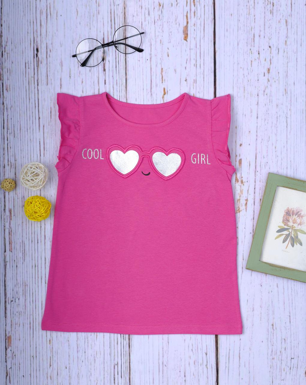"Camiseta regata ""garota legal"" - Prénatal"