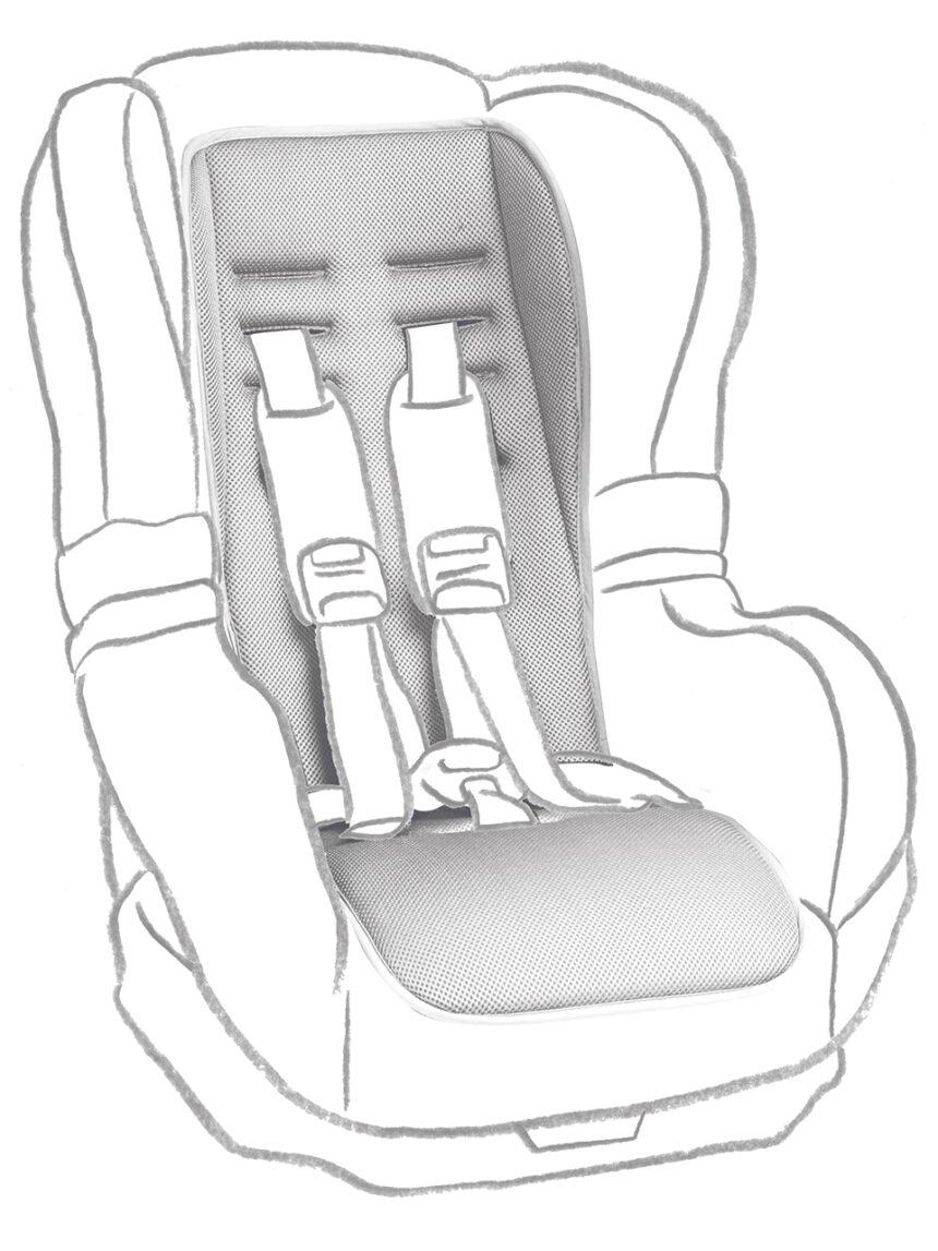 Colchão de espuma para assento de carro - Giordani