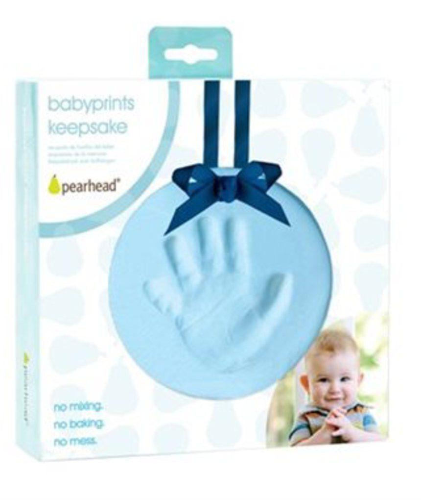 Lembrança de babyprints azul - Pearhead