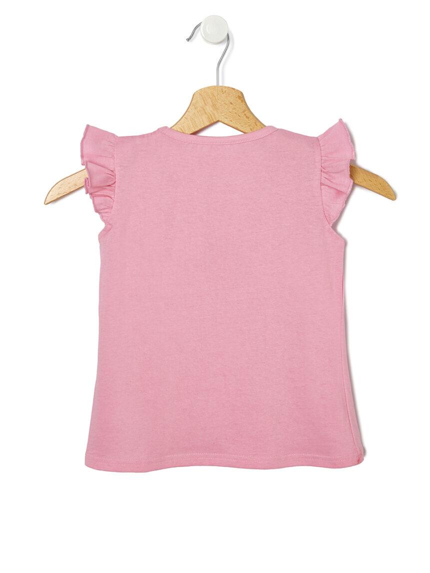 Camiseta de meia manga com estampa de amor - Prénatal