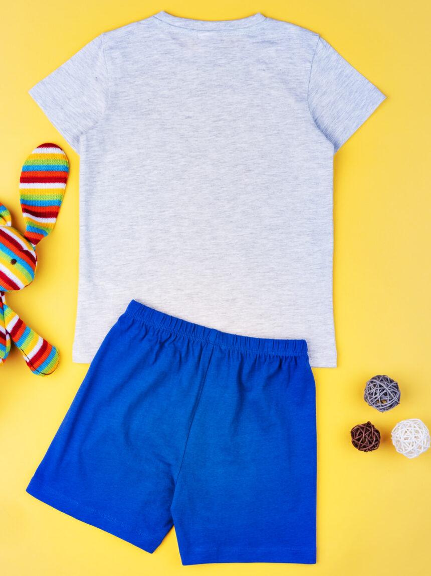 """Pijama de menino """"cachorro azul"""" - Prénatal"""
