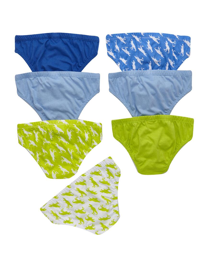 Pacote de 7 pares de cuecas de bebê - Prénatal