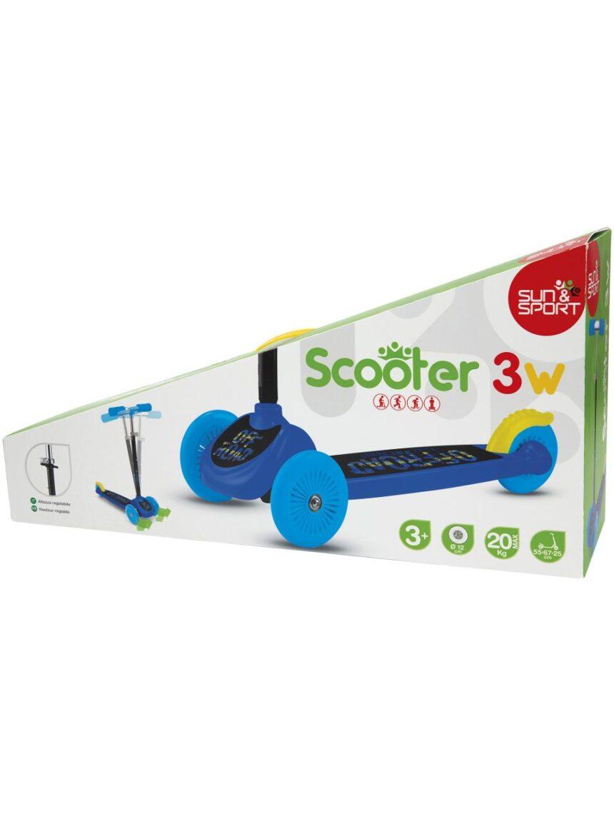 Sol e esporte - scooter 3w boy - Sun&Sport