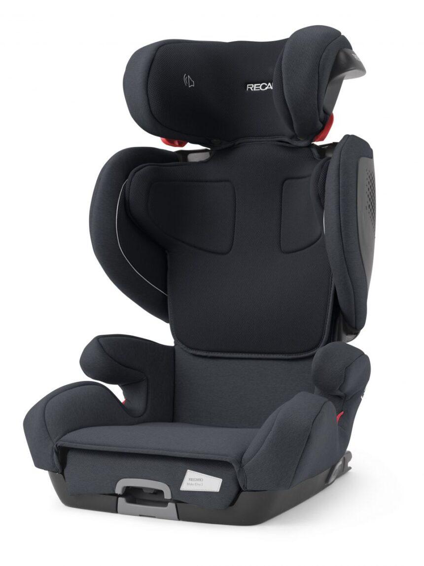 Cadeira infantil mako elite 2 prime mat preta - Recaro